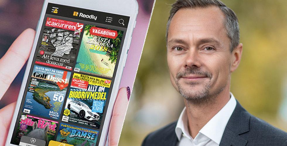 """Readly plockar toppchef från Starbreeze: """"Ser fram emot att leda det digitala skiftet"""""""