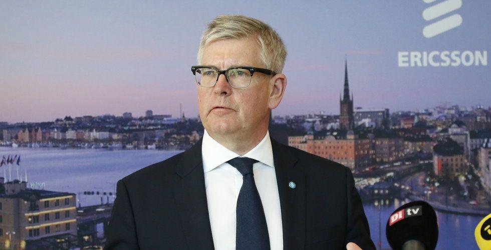 Ericsson ökar omsättning - justerat rörleseresultat bättre än väntat (uppdatering)