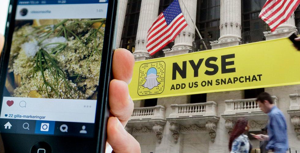 Så många använder Instagram stories – större än Snapchat