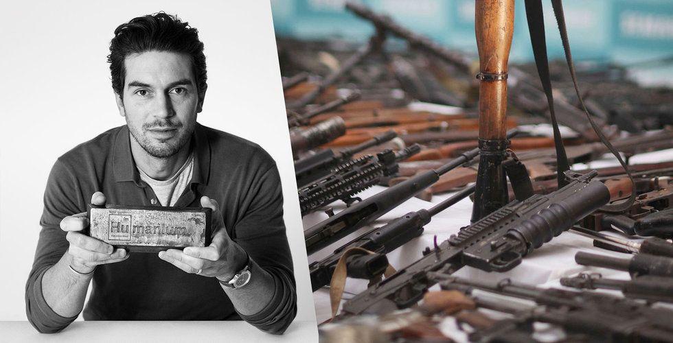 Kränger klockor för 75 miljoner – nu satsar svenska Triwa på skjutvapen