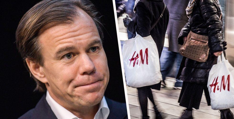 Breakit - Allt fler blankar H&M:s aktie – tror den kommer falla ännu mer