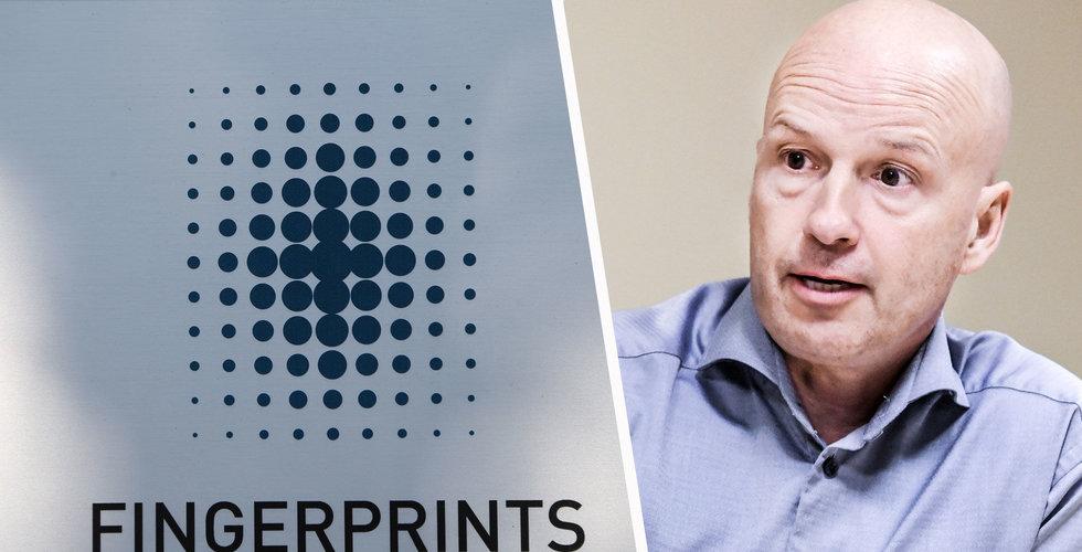 Fingerprint: Marknaden för smartphones allt mindre