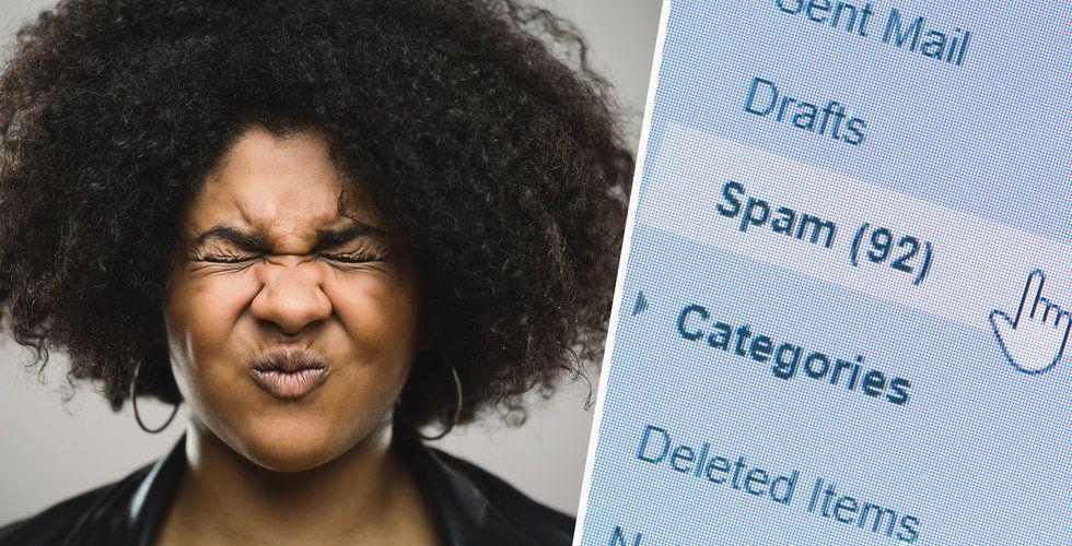 Ny undersökning: Skräpposten är vanligaste knepet för onlinebedragare
