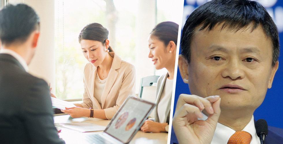 """Jack Ma om hemligheten bakom Alibabas framgång: """"De ger allt"""""""