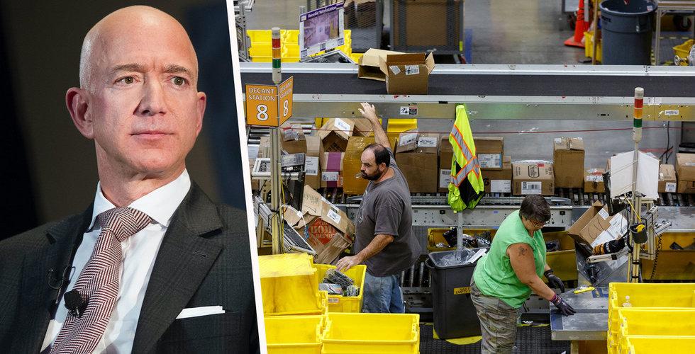 Amazon ska rekrytera 100.000 personer i USA