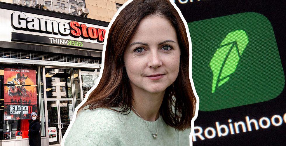 "Louise Samet om kaoset runt Wallstreetbets: ""Mind blowing"""