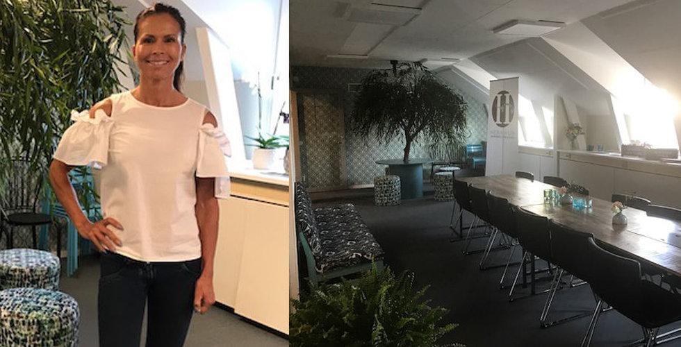 Hon lanserar coworking-konceptet Hera Hub - för kvinnliga entreprenörer