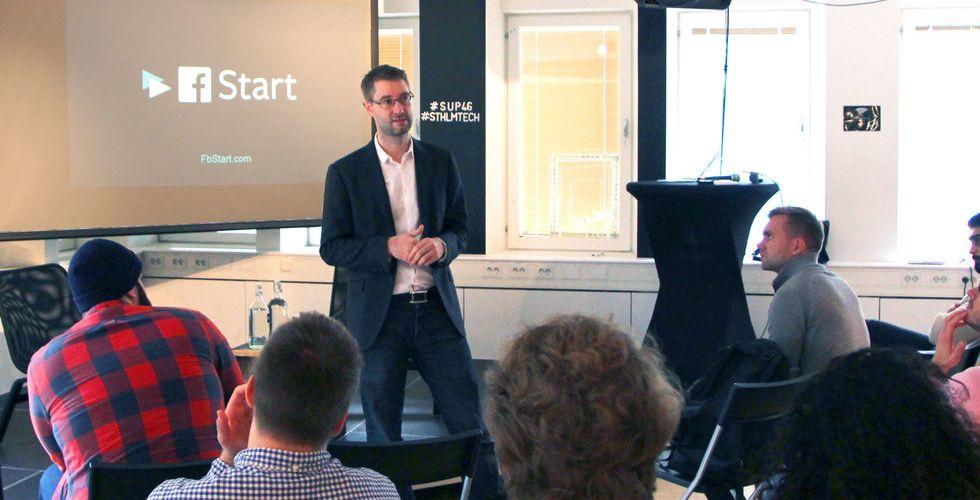 Facebook inleder charmoffensiv - raggar startups i Stockholm