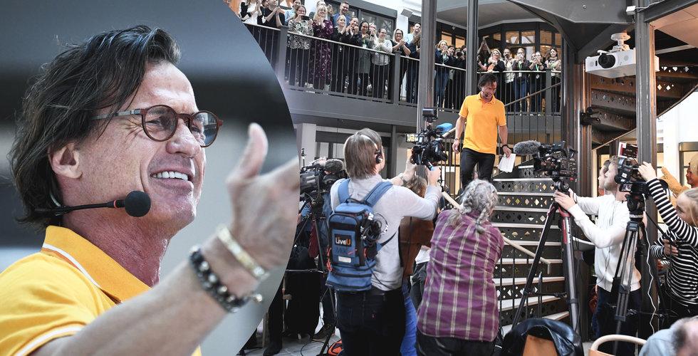 Vilken bomb – Petter Stordalen tar över Ving efter konkursen