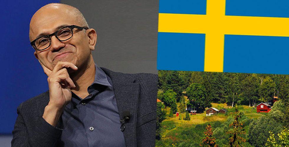 Microsoft köper mark i Norrland – för 269 miljoner