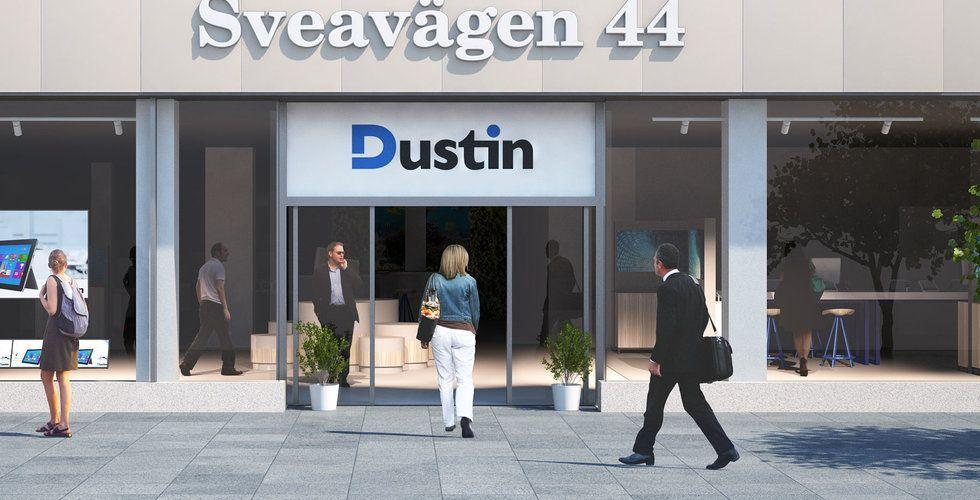 Sveriges största e-handlare Dustin klår förväntningarna