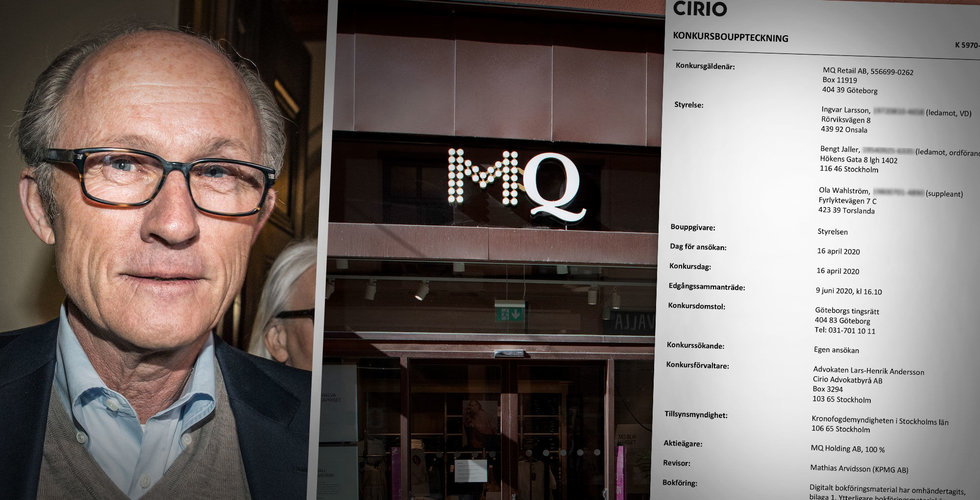Här är de 36 största förlorarna i MQ-konkursen – hela listan