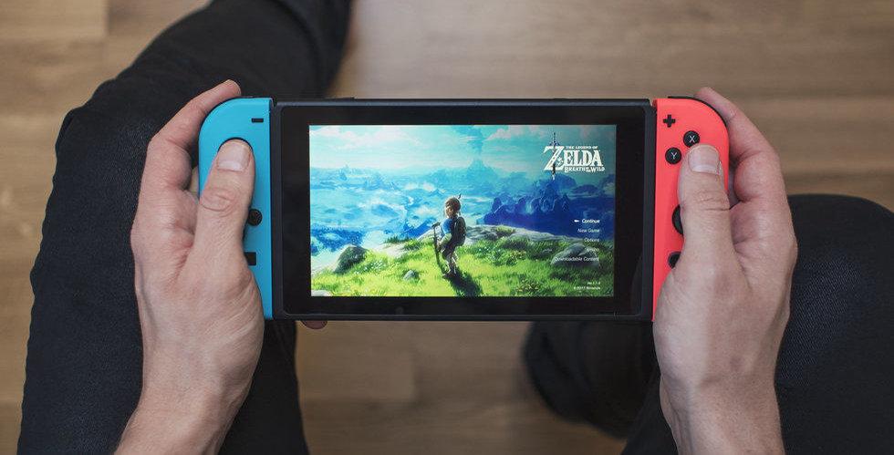 Då lanserar Nintendo nya Switch Lite