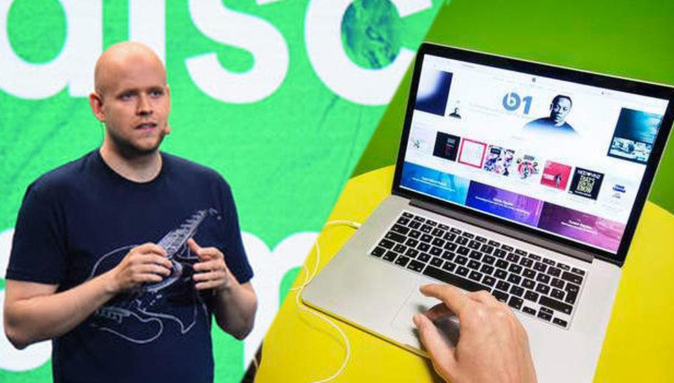 Breakit - Nya siffror visar: Så mycket större är Spotify än Apple Music