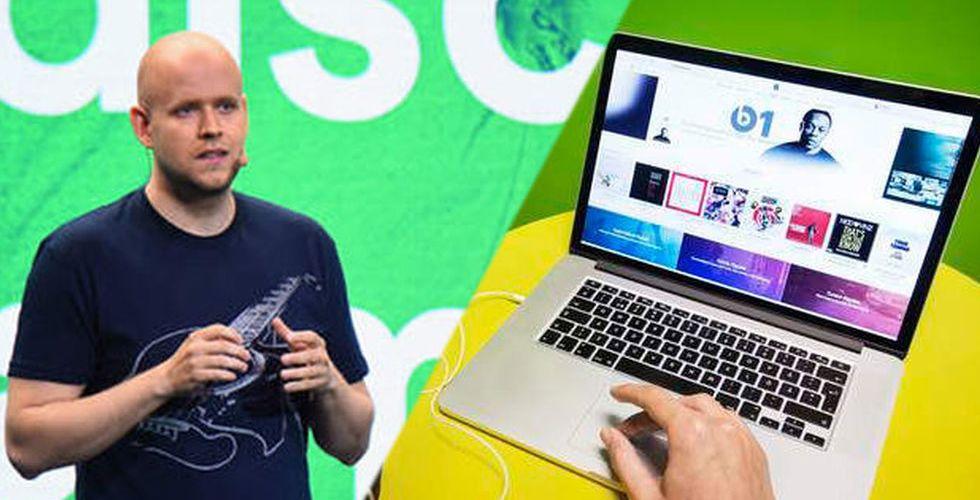 Nya siffror visar: Så mycket större är Spotify än Apple Music