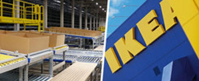 Ikea öppnar nytt robotlager – ska göra leveranserna snabbare