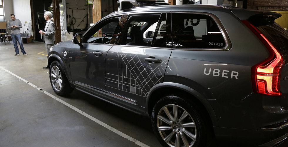 Breakit - Självkörande Uber-Volvo i krasch