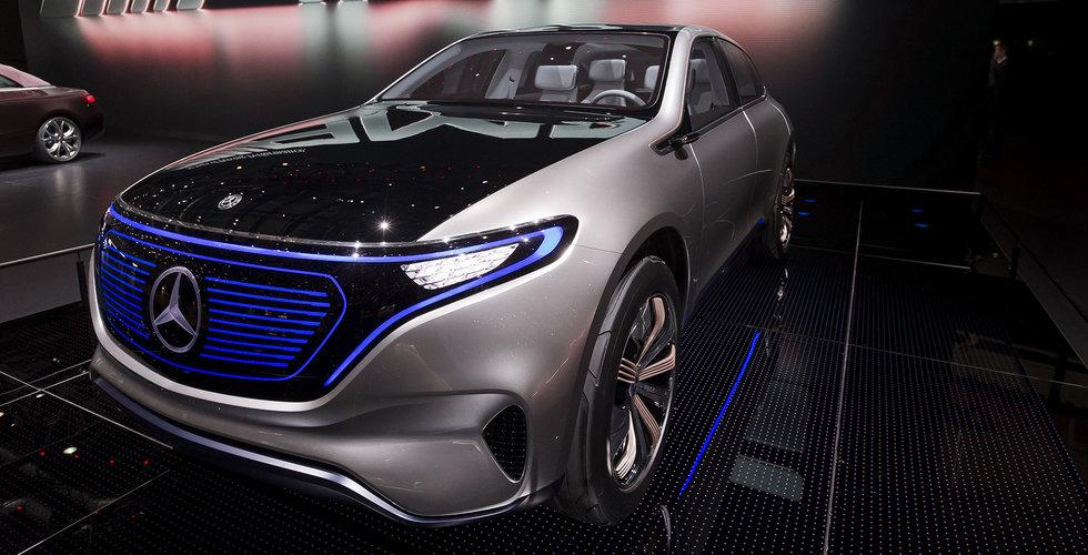 Breakit - Mercedes nya löfte: Alla modeller får elversioner 2022
