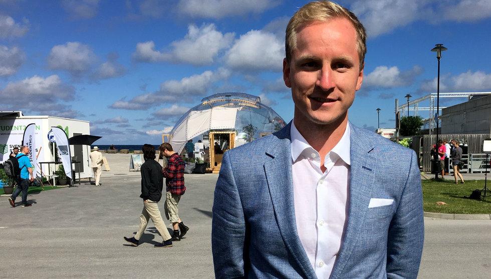 Efter Catena Medias miljonregn – nu vill Erik Bergman bli filantrop