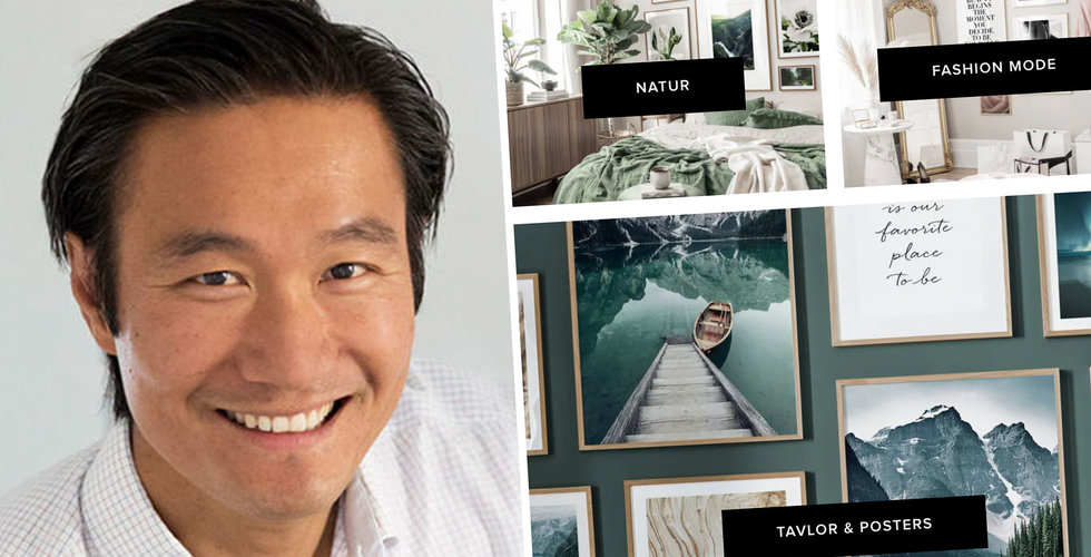 Affisch-sajten slukas i miljardaffär – köps upp av konkurrenten Desenio
