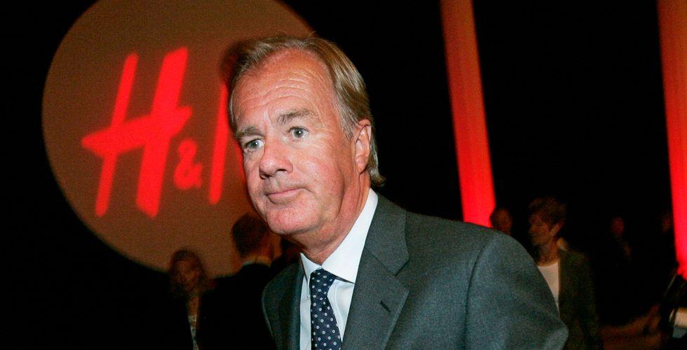 Breakit - Han tankar aktier i H&M – för närmare 1 miljard kronor