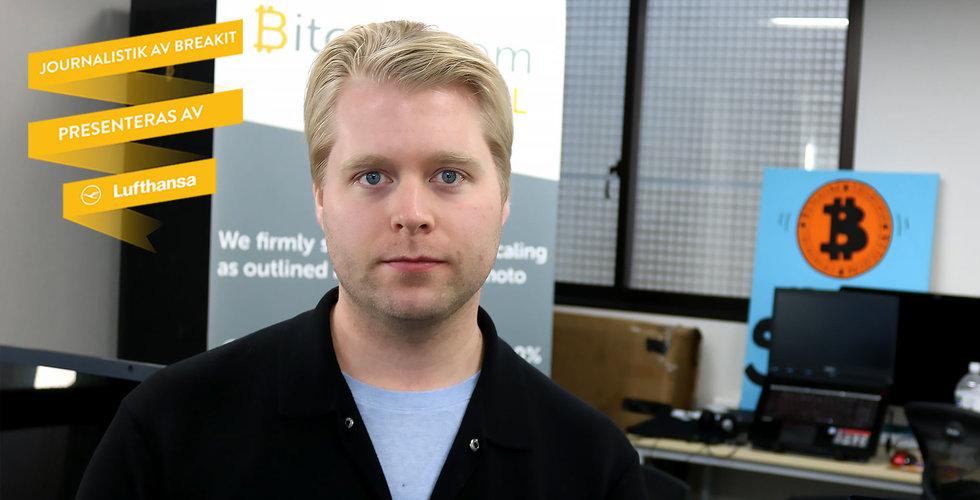 """Emil Oldenburg bakom Bitcoin.com: """"Bitcoin är så gott som oanvändbart"""""""