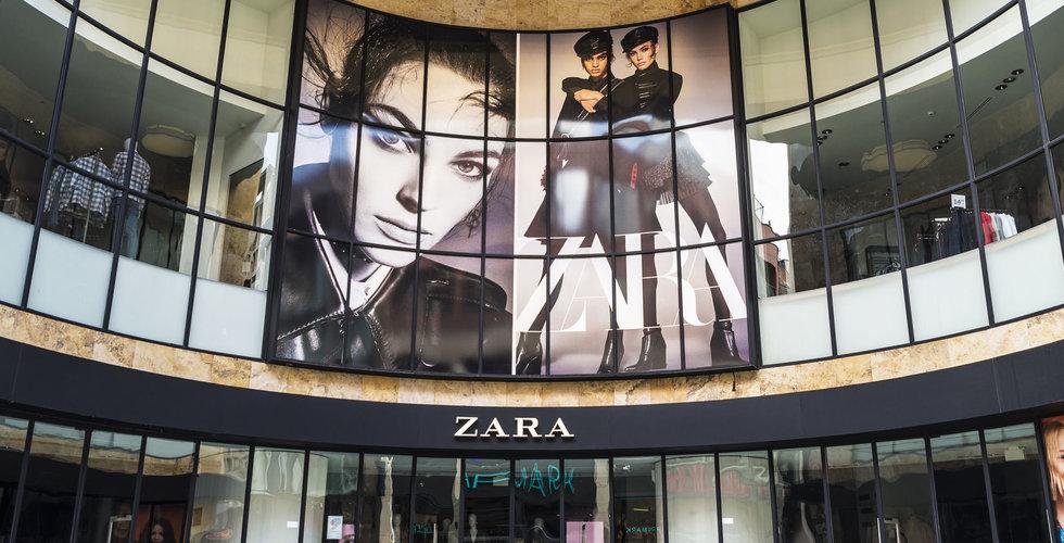 H&M-konkurrenten Zara satsar på leveranser till nätkunder från butiker