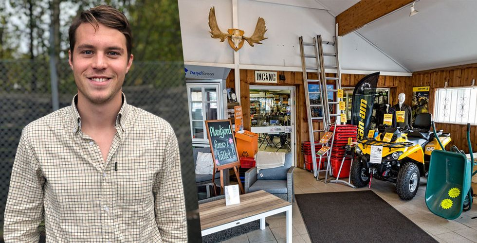 Han säljer sin e-handel till börsjätten – får 300 miljoner