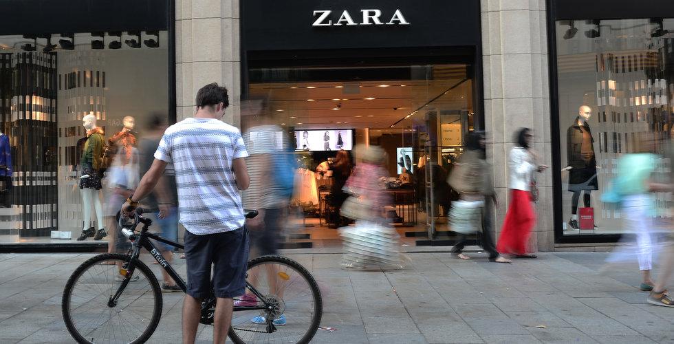 Zara ökade försäljningen i Sverige