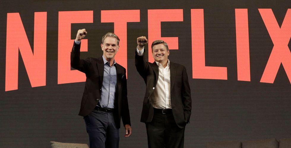 Netflix rusade i efterhandeln efter rapporten – fler nya prenumeranter än väntat