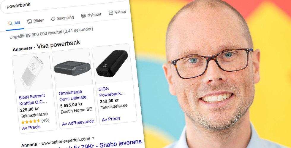 """Svenska bolag i stort uppror mot Google: """"Hämmar all typ av konkurrens"""""""