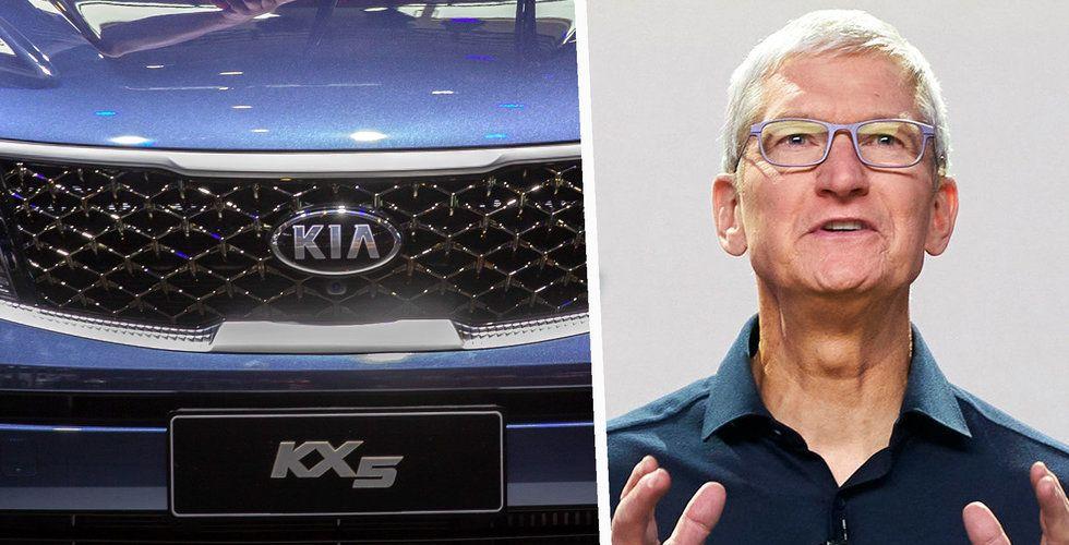 Kia Motors rusade 11 procent efter uppgifter om Apple-investering