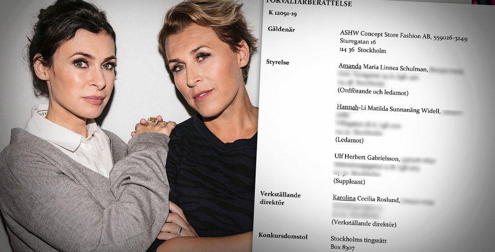 Hannah & Amanda krävs på miljoner – konkursförvaltaren hotar med stämning