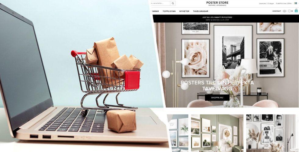 Poster Store säljer affischer online – växer med 400 procent