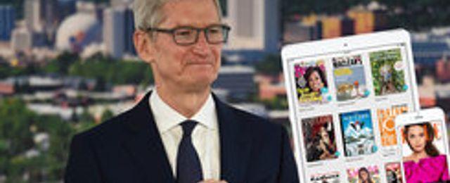 """Breakit - Apple vill satsa på """"Netflix för tidningar"""" – men medierna tvekar"""
