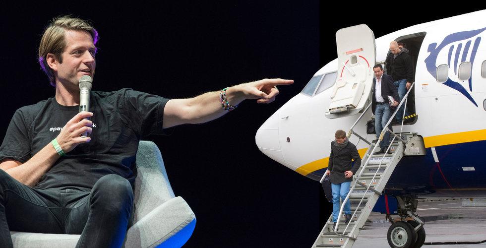 """Breakit - Sebastian Siemiatkowski: """"Vill bli bankernas svar på Ryanair"""""""