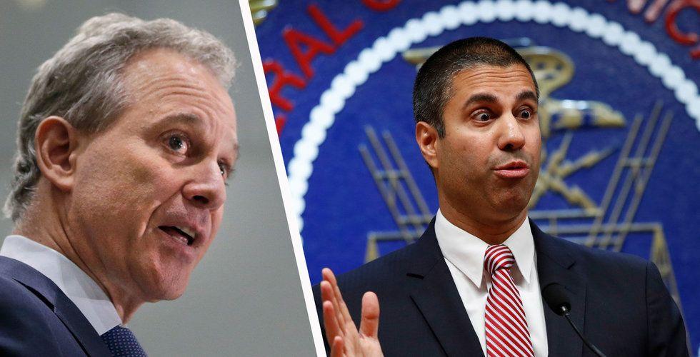 New Yorks åklagare stämmer myndigheten som rivit upp lagen om nätneutralitet