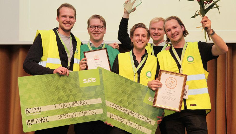 Lovande svenska startups får dela på över en halv miljon kronor