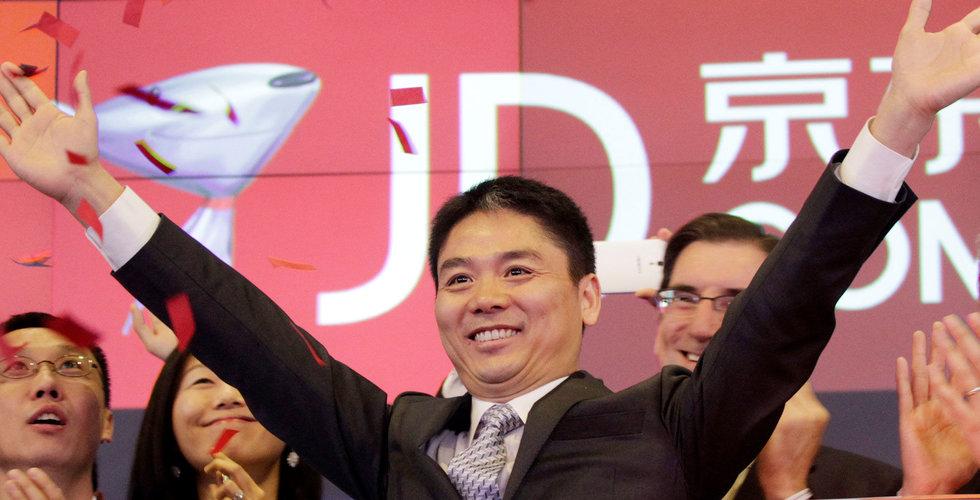 E-handlaren JD.com ska bygga 185 drönarflygplatser runt om i Kina