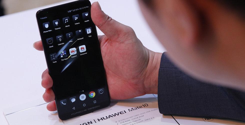 Breakit - FBI och CIA varnar amerikanerna för kinesiska telefoner