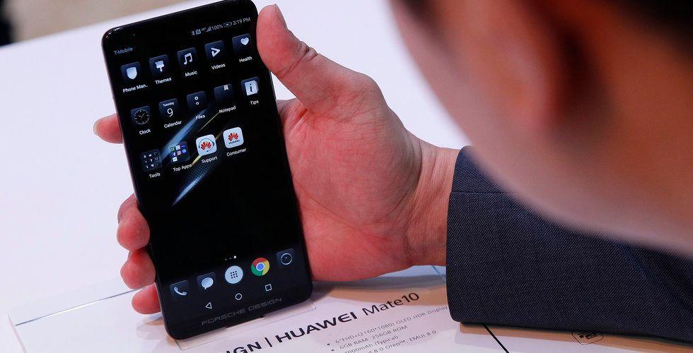 FBI och CIA varnar amerikanerna för kinesiska telefoner