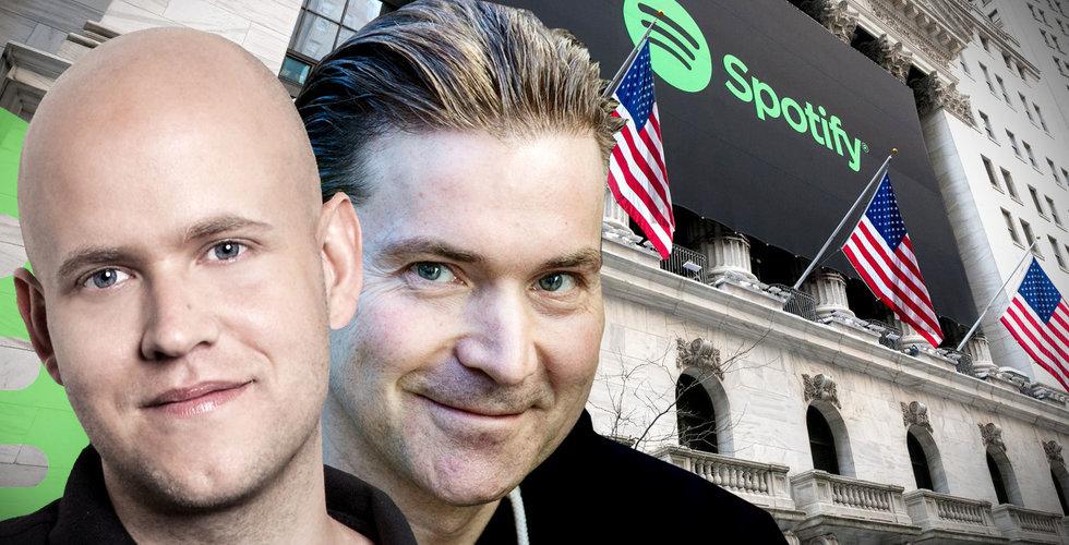 Spotify granskas av Skatteverket