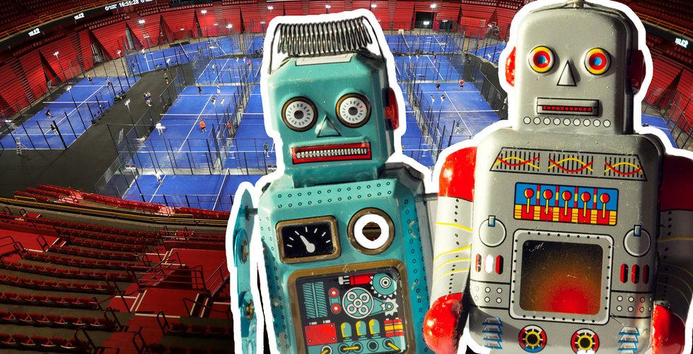 """Robotarna roffar åt sig padeltiderna – """"Förstör marknaden"""""""
