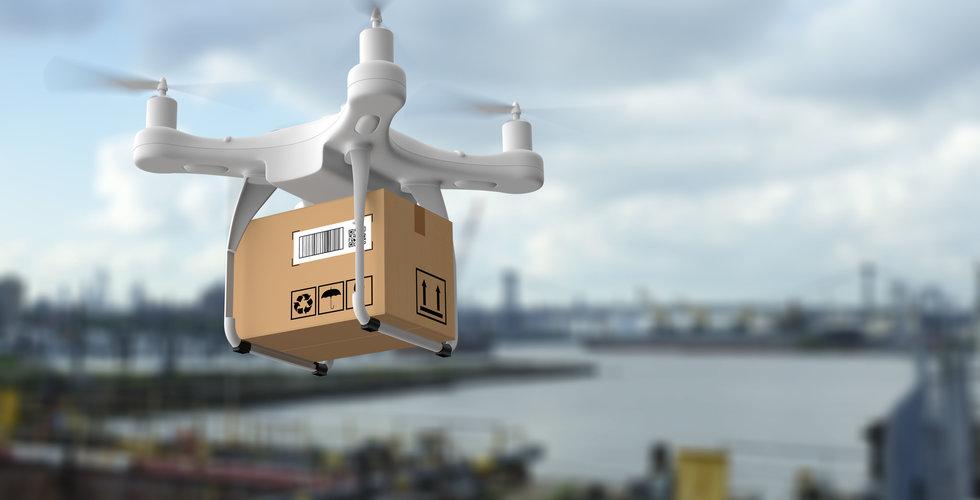 Amazons planer på att leverera paket med drönare kraschar - över 100 har sagts upp
