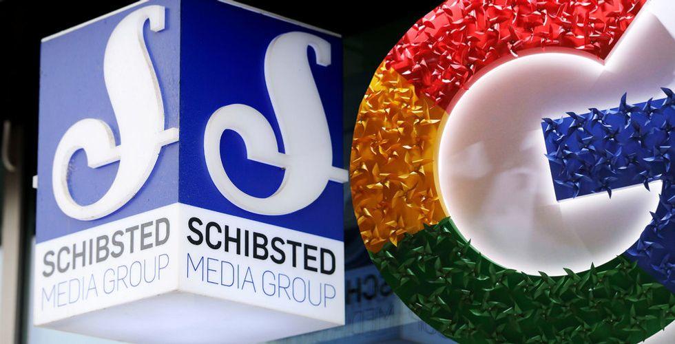 """Schibsted ger upp fighten mot Google: """"Blev för dyrt"""""""