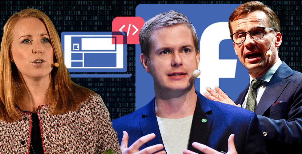 """Svenska partier kartlägger dig på nätet – i smyg: """"Bryter mot lagen"""""""