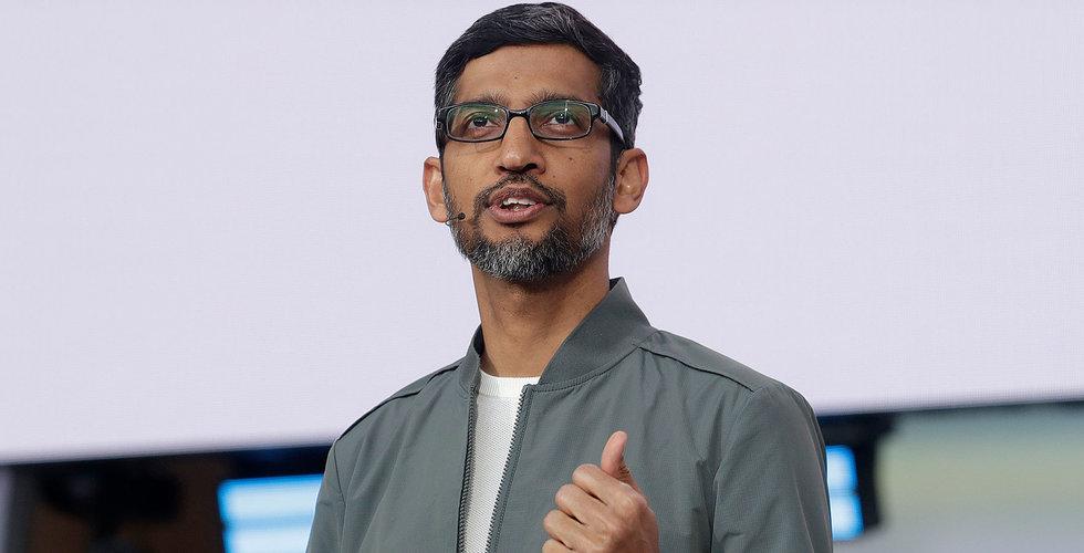 Google nådde börsvärdesmilstolpen 1 biljon dollar