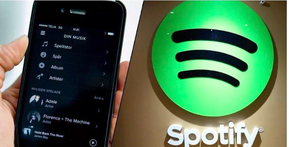 Spotify visar rörelsevinst i fjärde kvartalet