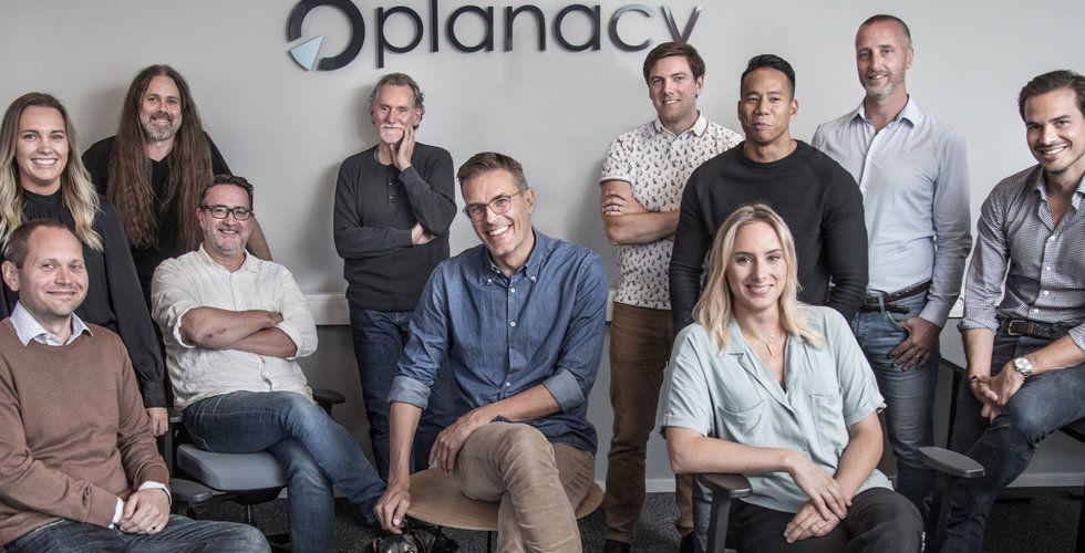 """Stort intresse när Planacy tog in pengar: """"Känns nästan surrealistiskt"""""""