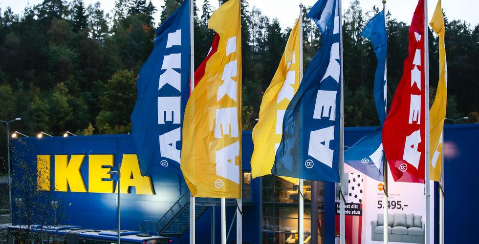 Ikea lägger ned planer på nya varuhus i Norge